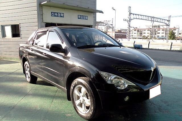 2006 Ssangyong Actyon #11