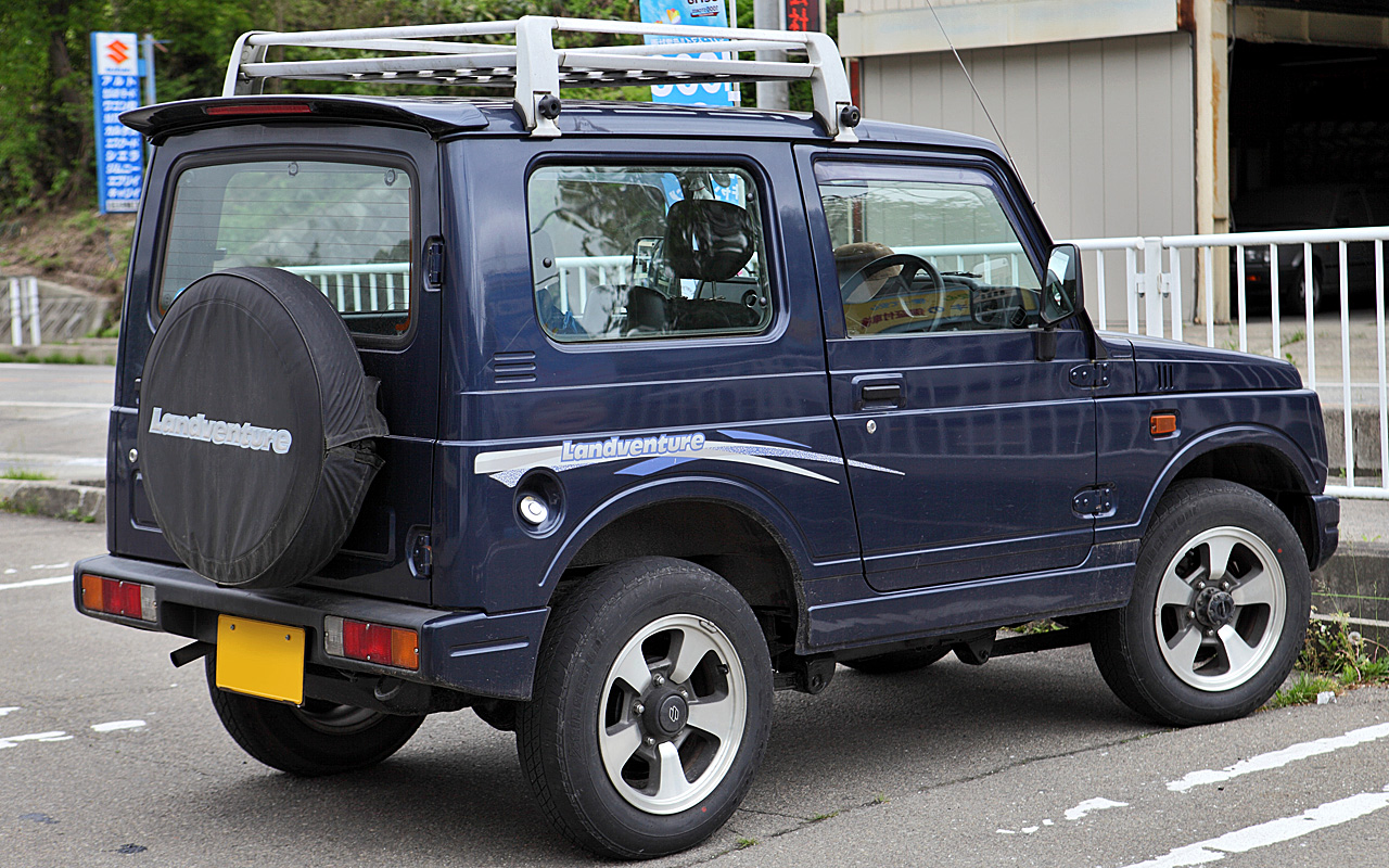 1985 Suzuki Jimny Photos Informations Articles