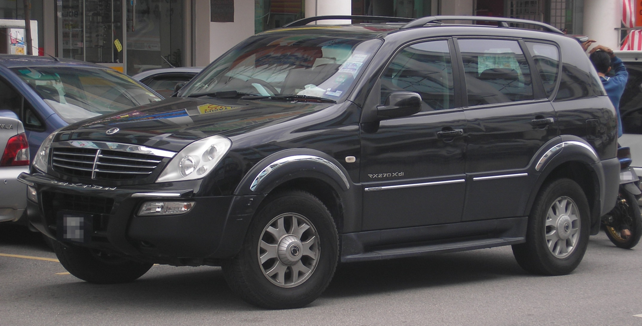 2009 Ssangyong Musso #3