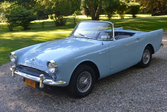 1962 Sunbeam Alpine #3