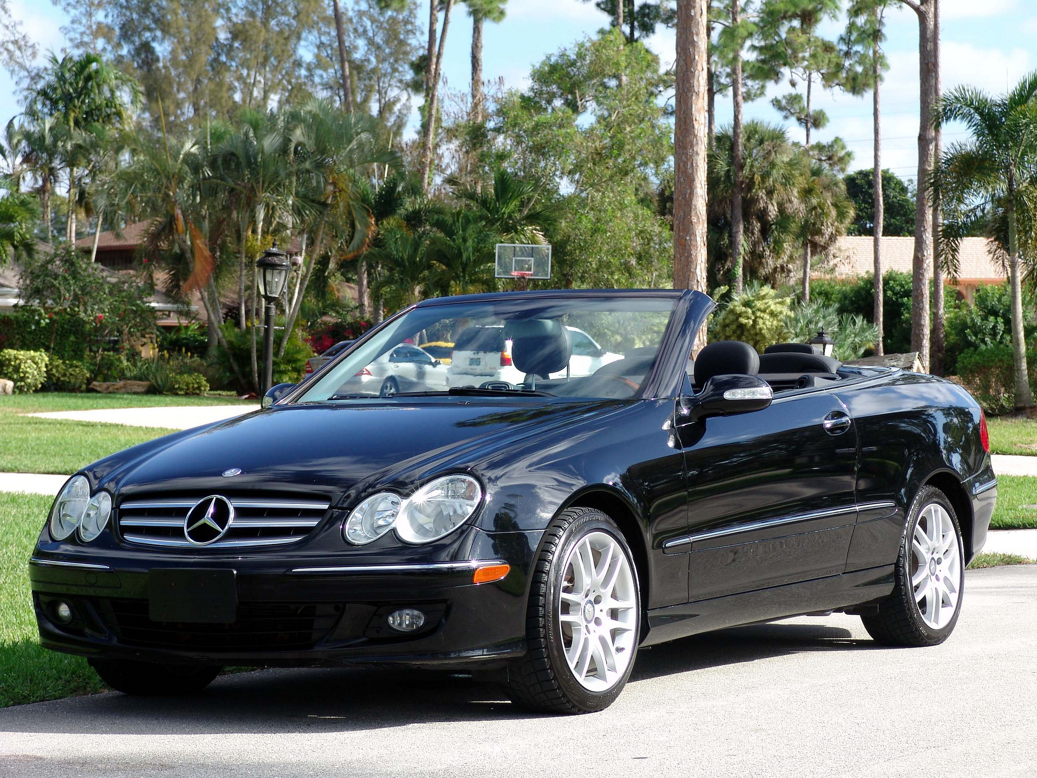 Mercedes Benz CLK #1