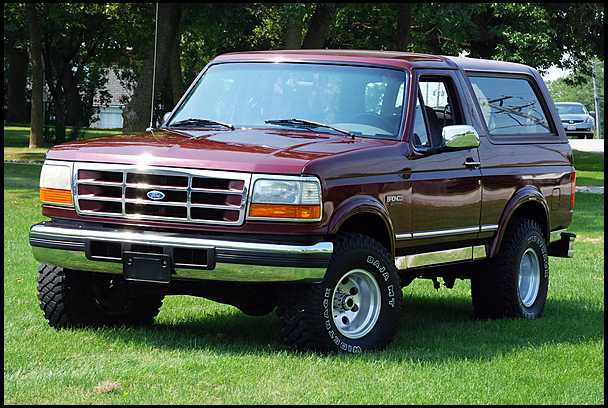 1996 Ford Bronco #3