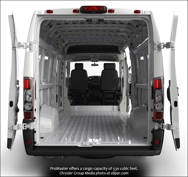 2015 Ram Promaster Window Van #14