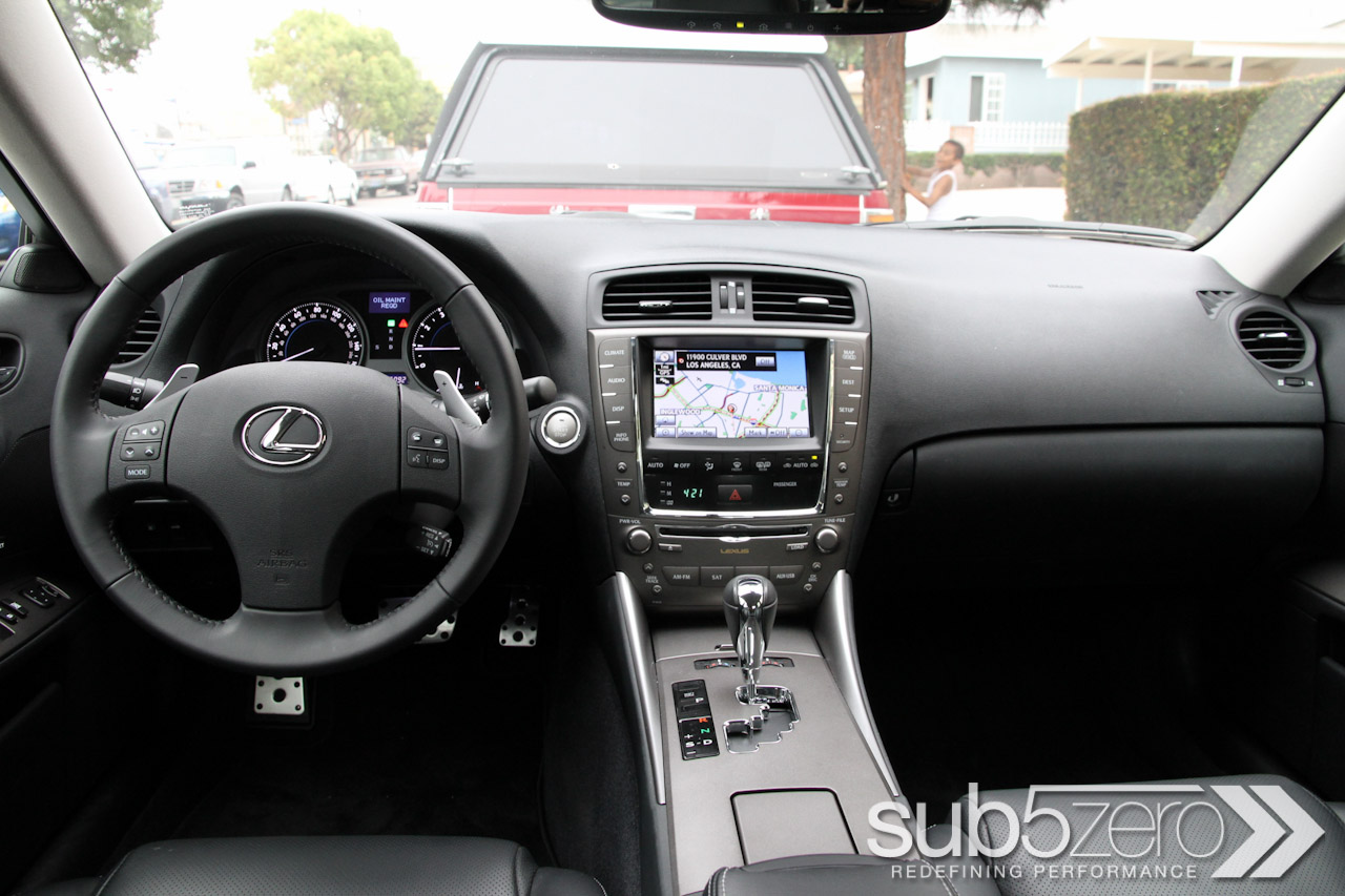 2010 Lexus Is 350 #8