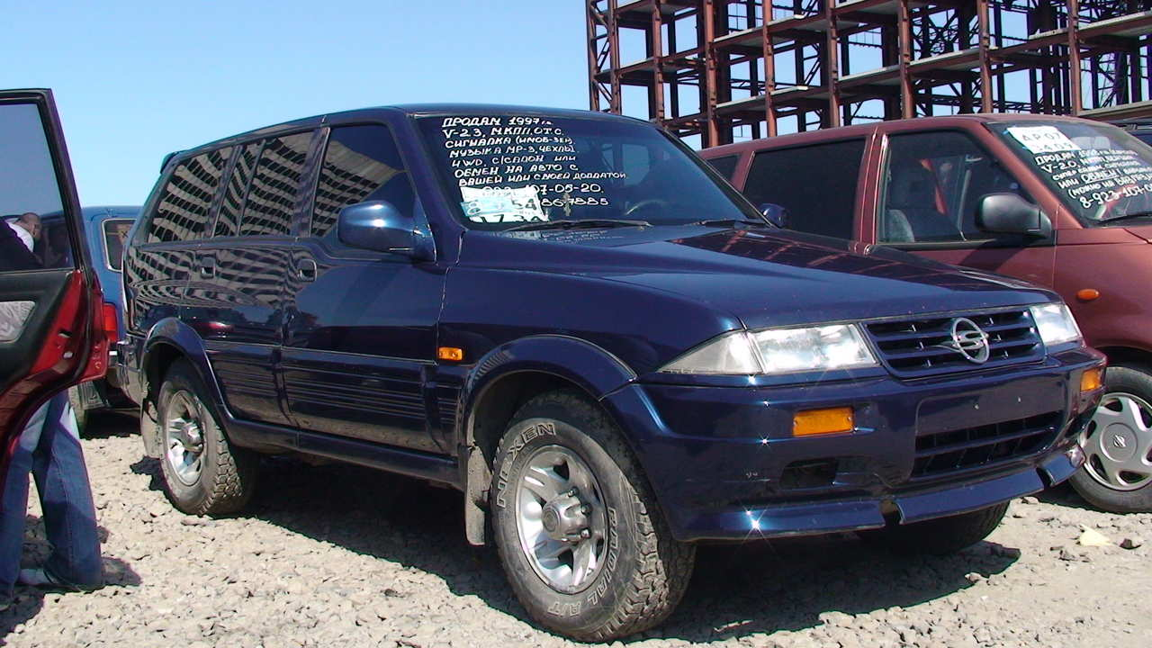 1997 Ssangyong Musso #15