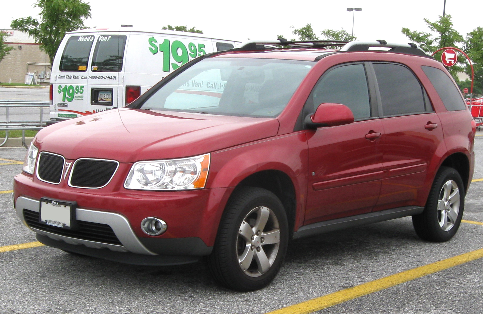2007 Pontiac Torrent #9