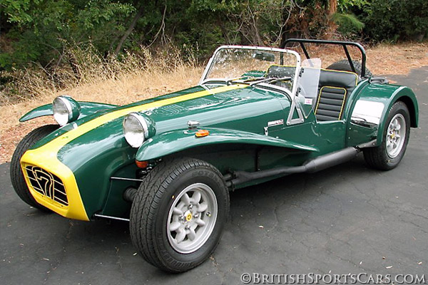 1991 Caterham Super 7 #7