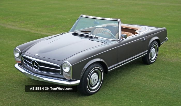 1966 Mercedes-Benz SL #9