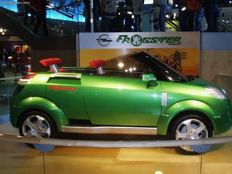 2002 Opel Frogster #9