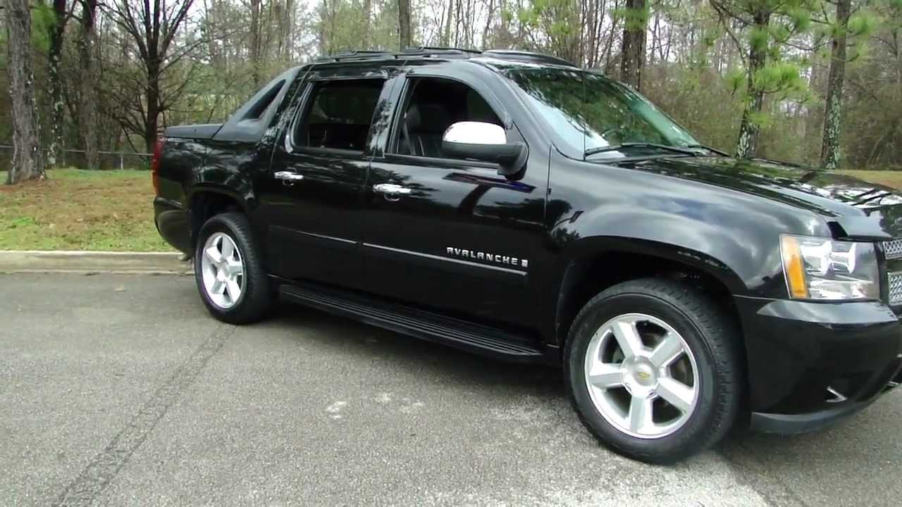2007 Chevrolet Avalanche Photos Informations Articles
