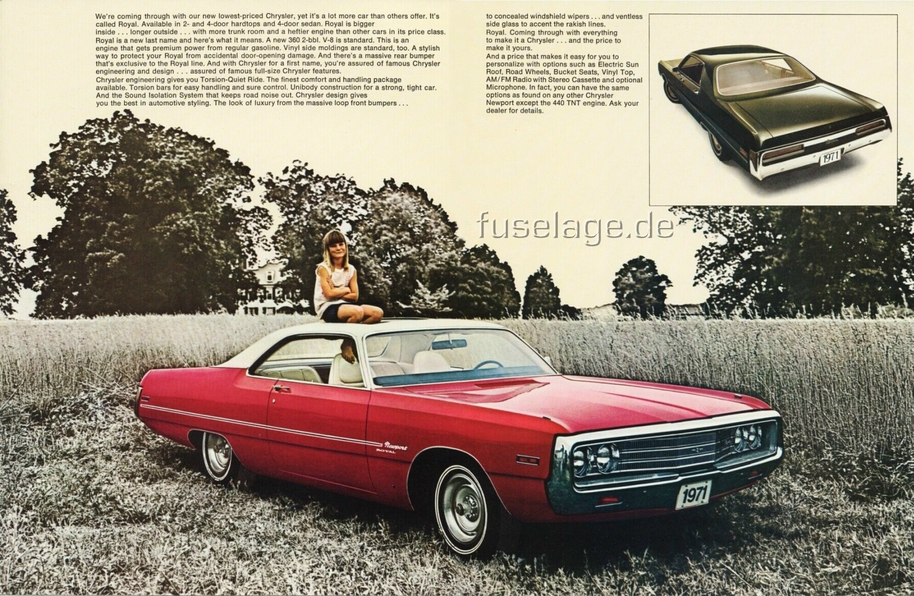 1971 Chrysler Newport #15