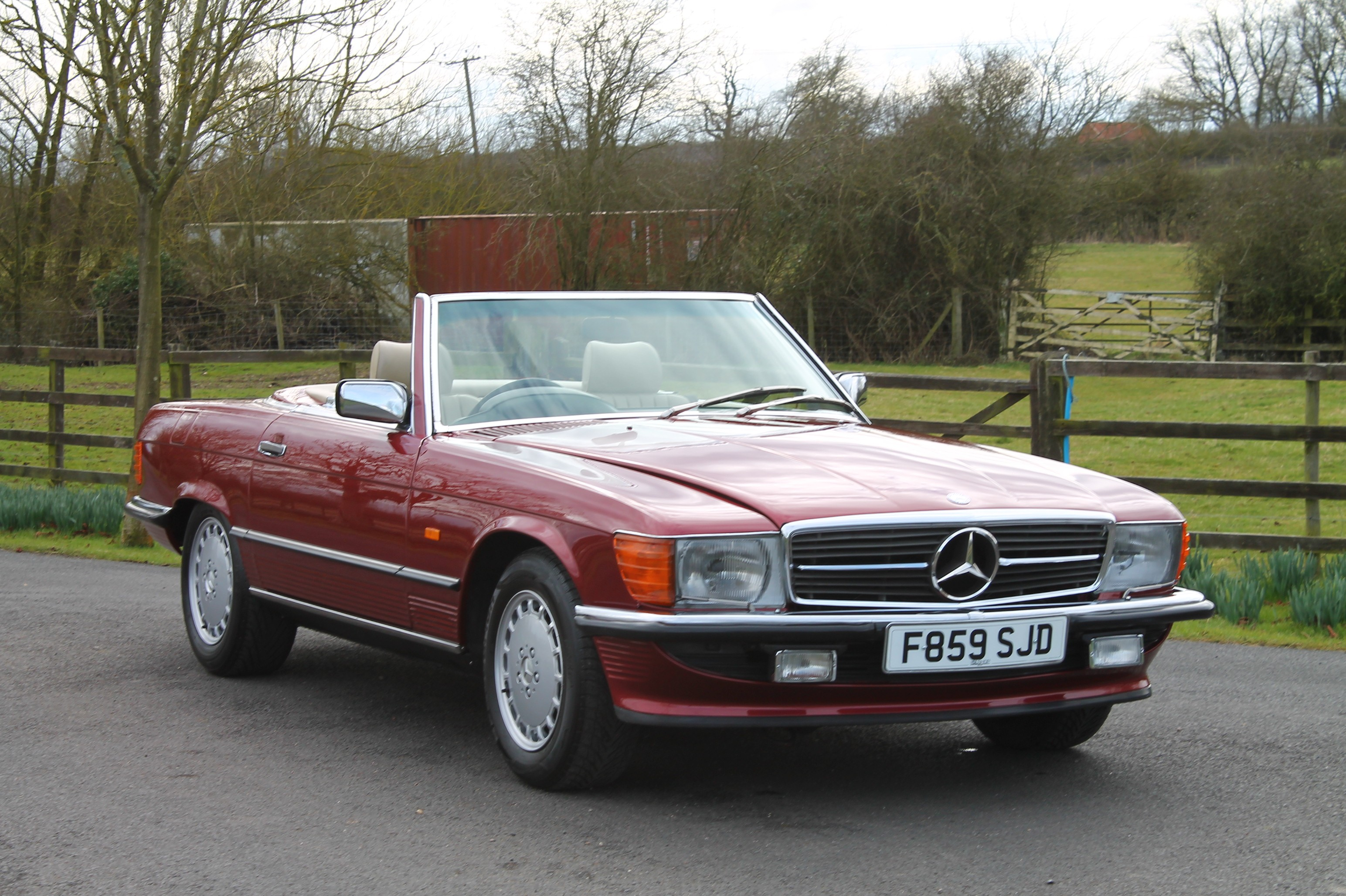 1989 Mercedes-Benz SL #14