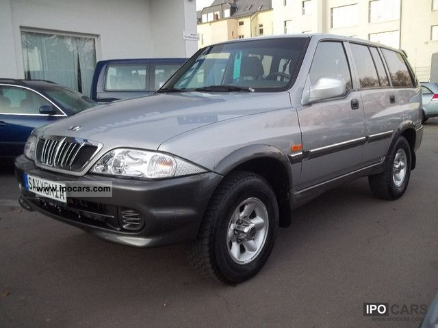 2002 Ssangyong Musso #4