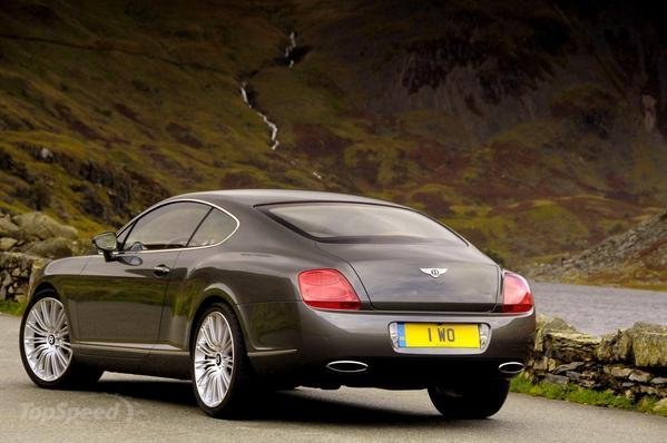 2008 Bentley Continental Gt Speed #8