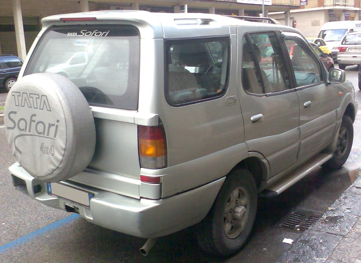 1998 Tata Safari #2