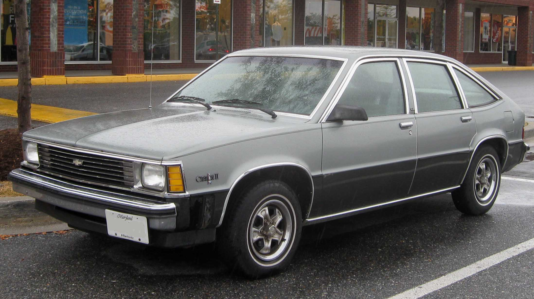 Chevrolet Citation #1