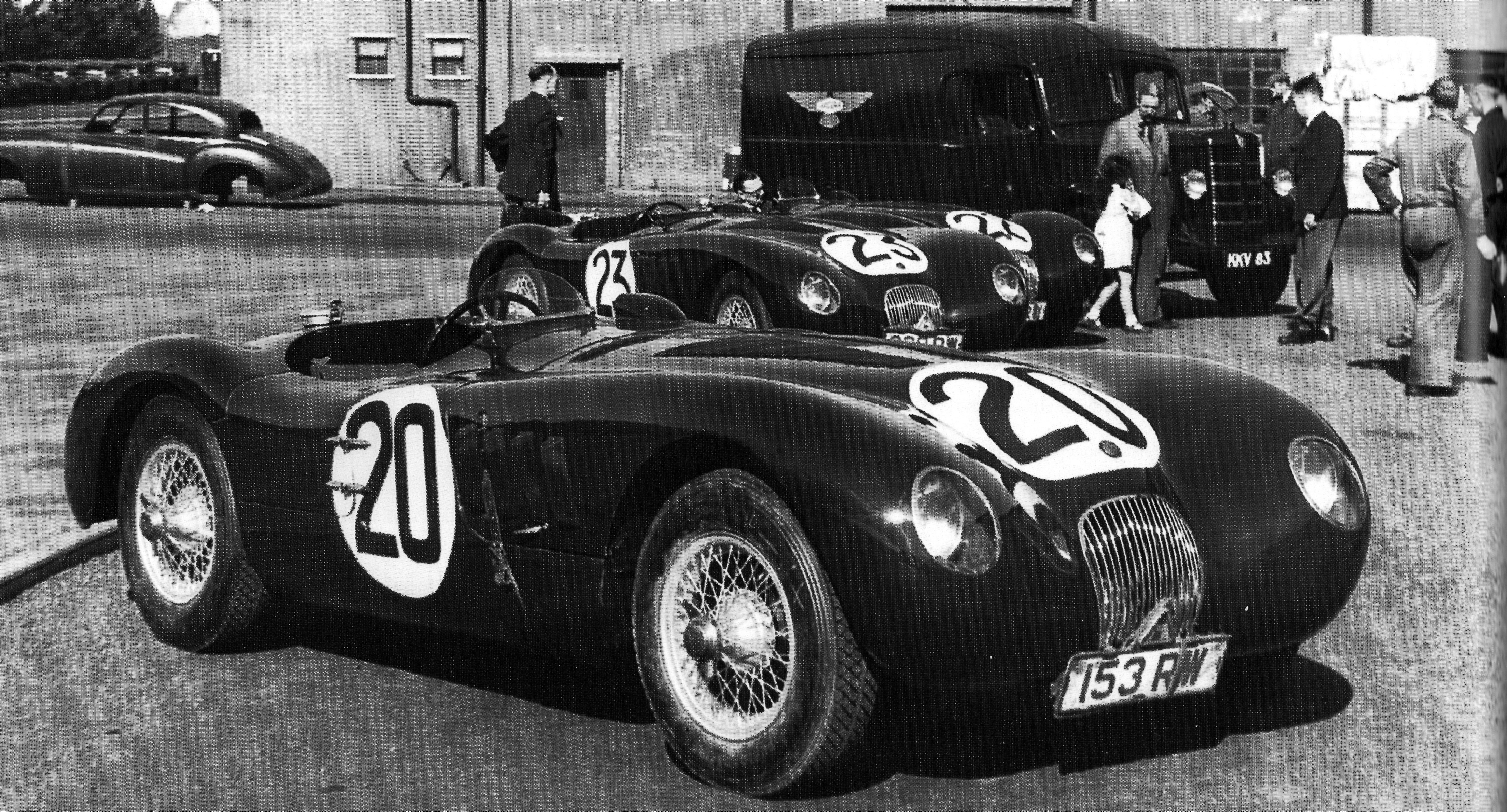 1951 Jaguar Type-C #14