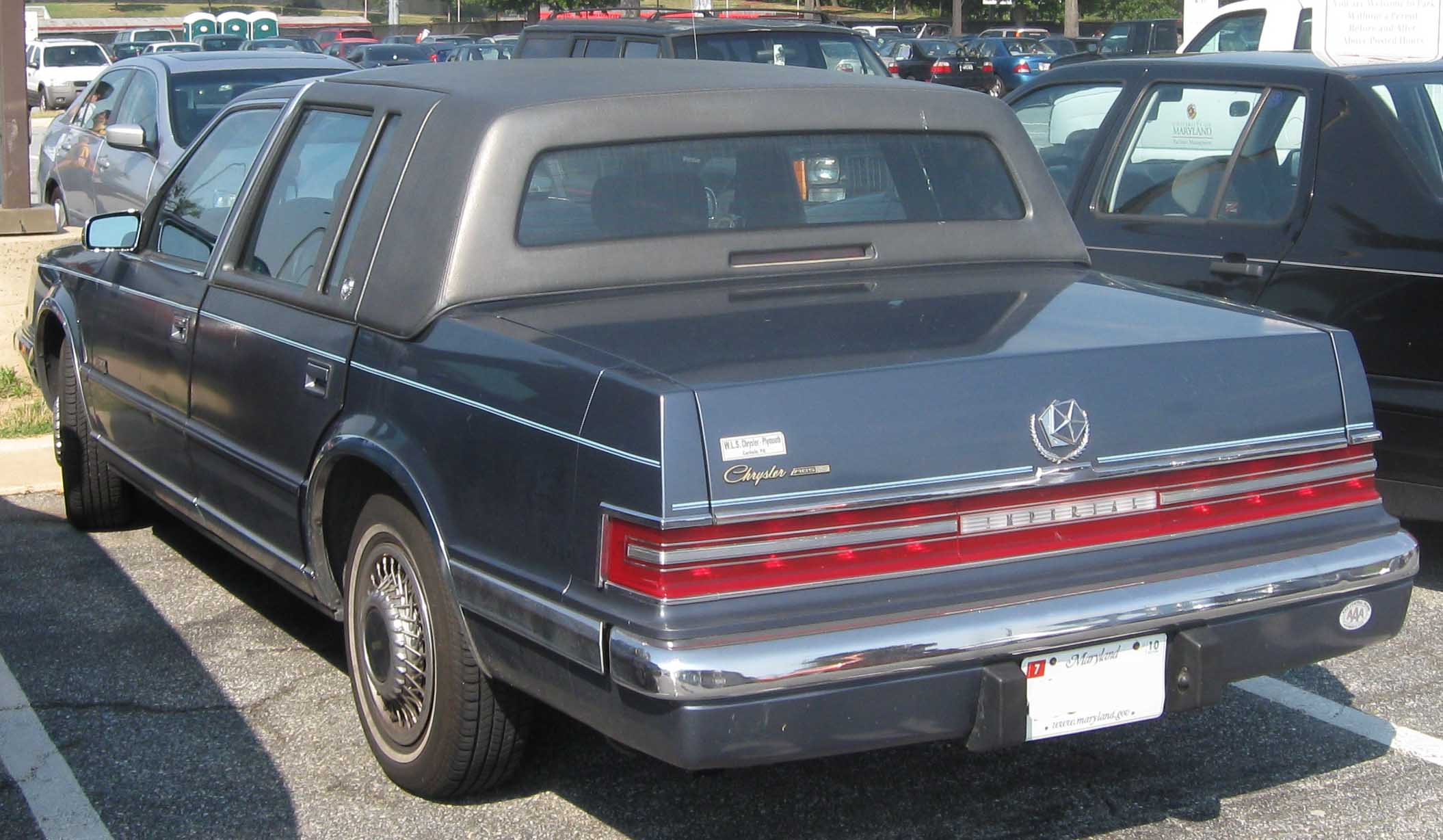 1992 Chrysler Imperial #9