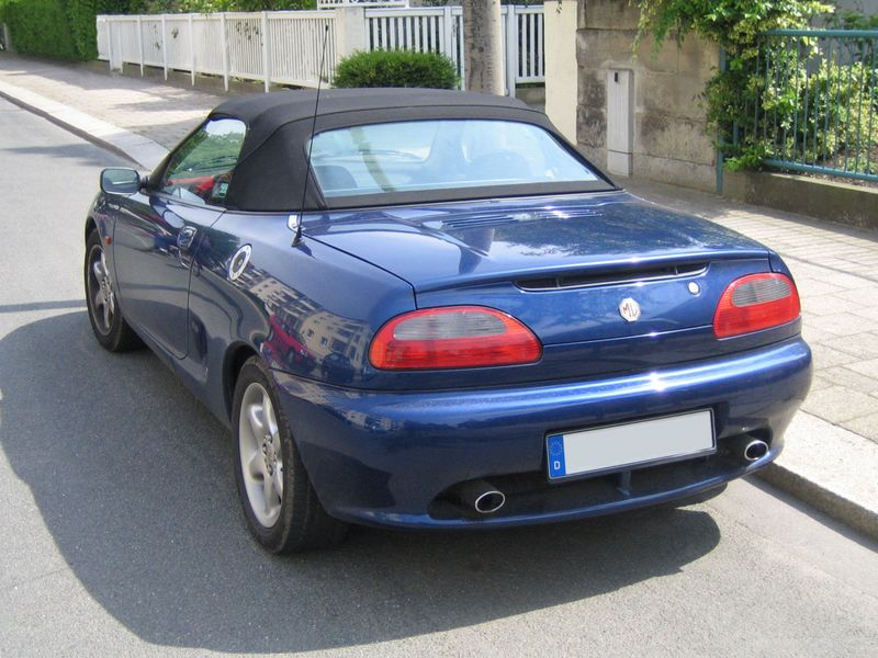 1995 rover mgf photos informations articles. Black Bedroom Furniture Sets. Home Design Ideas