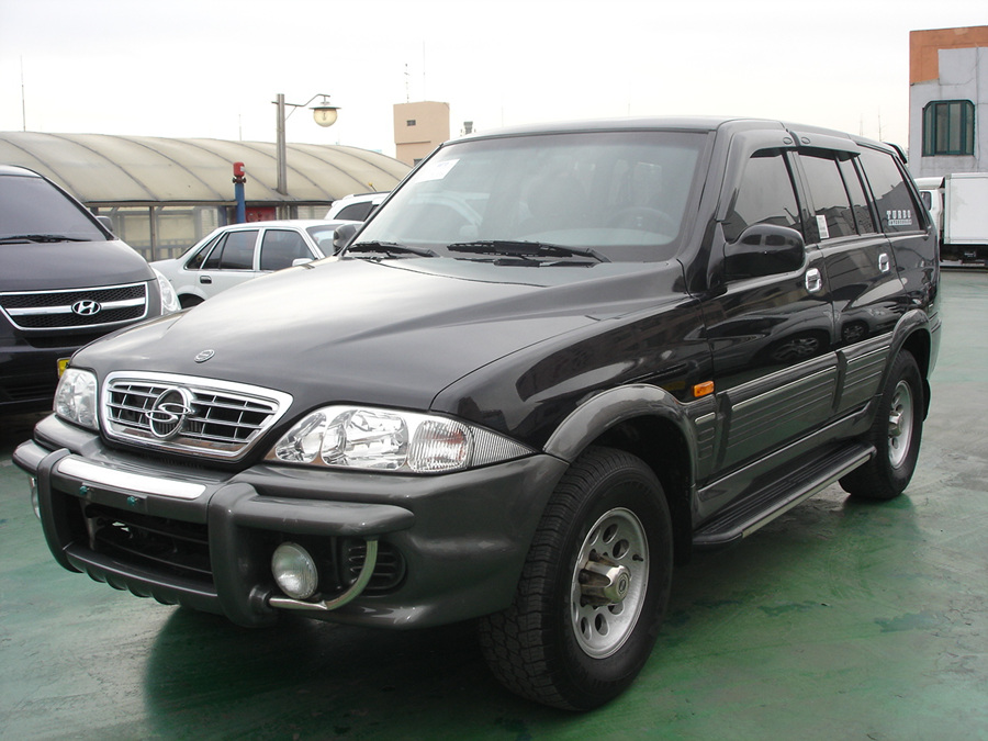 2004 Ssangyong Musso #6