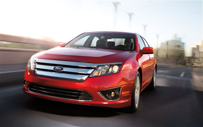 2012 Ford Fusion #6