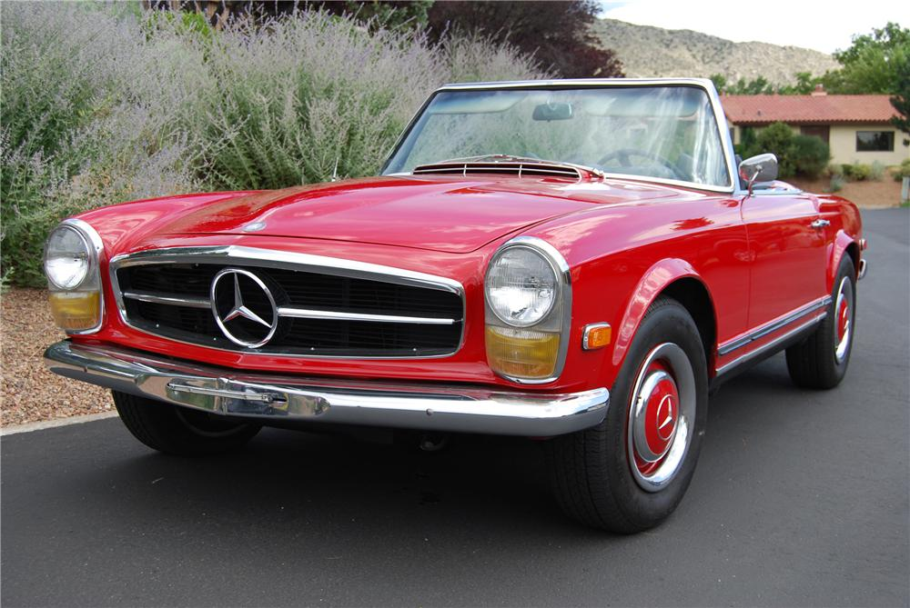 1966 Mercedes-Benz SL #6