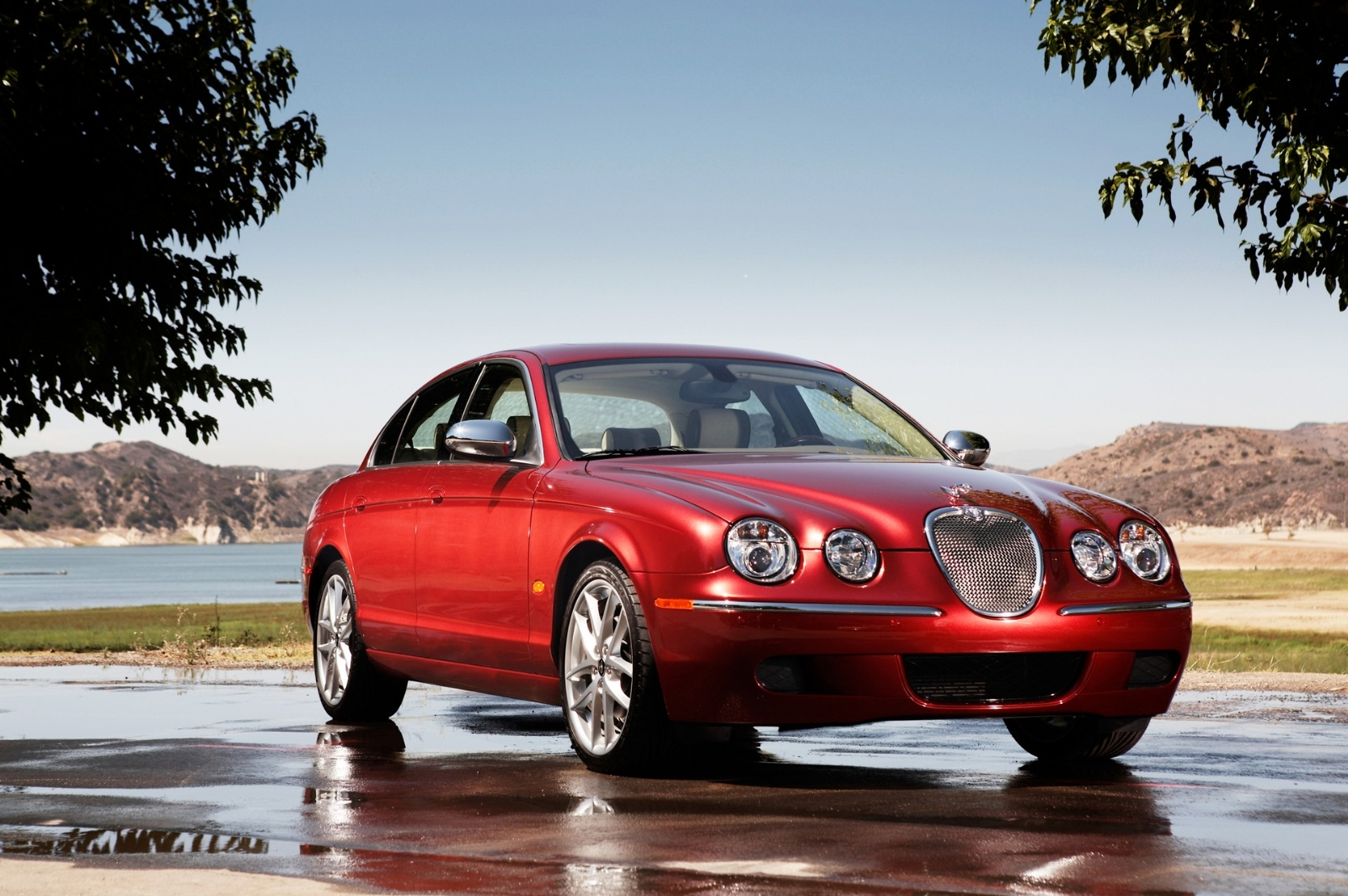2008 Jaguar S-type #6
