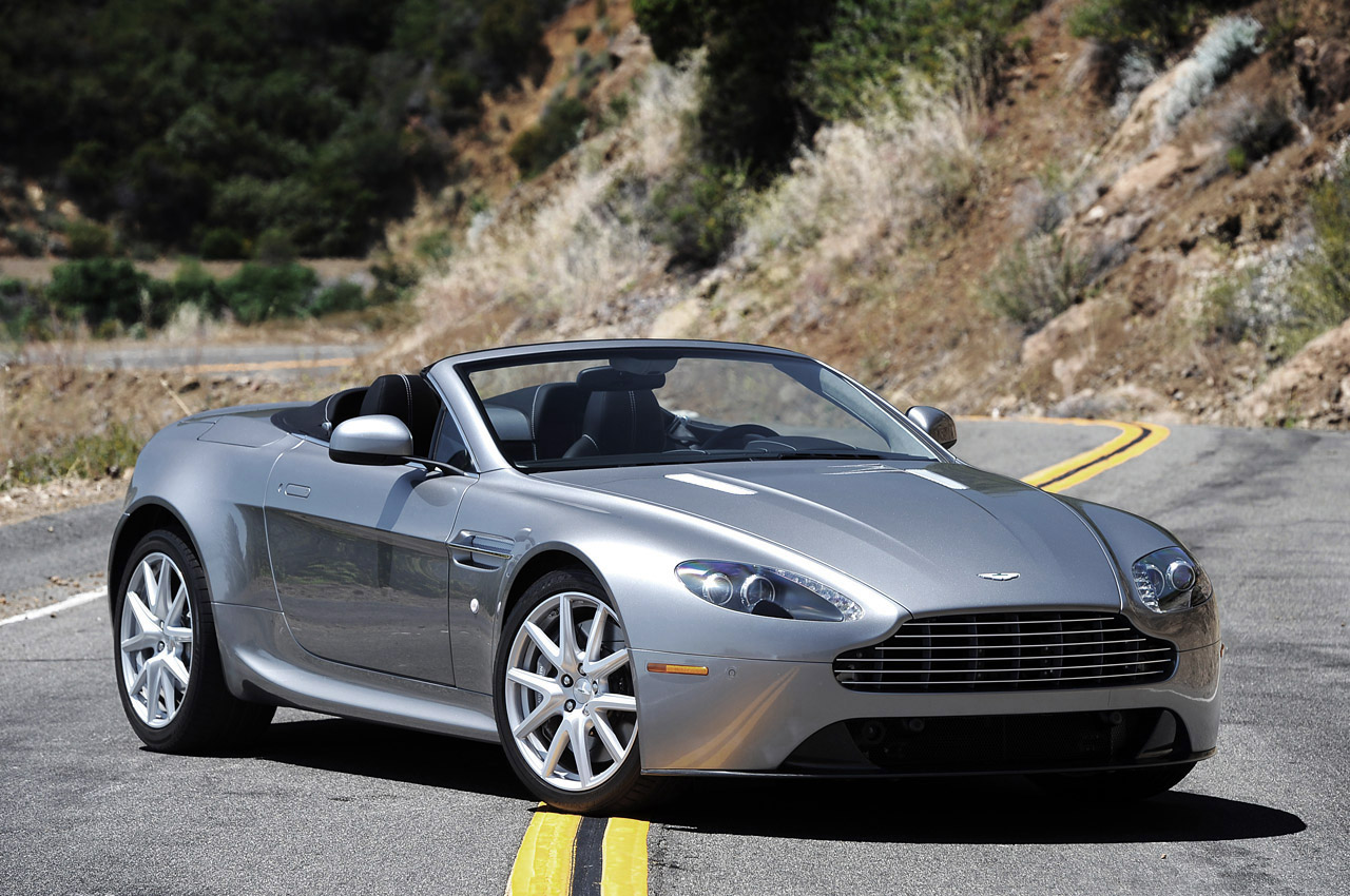 2013 Aston Martin Vantage Photos Informations Articles