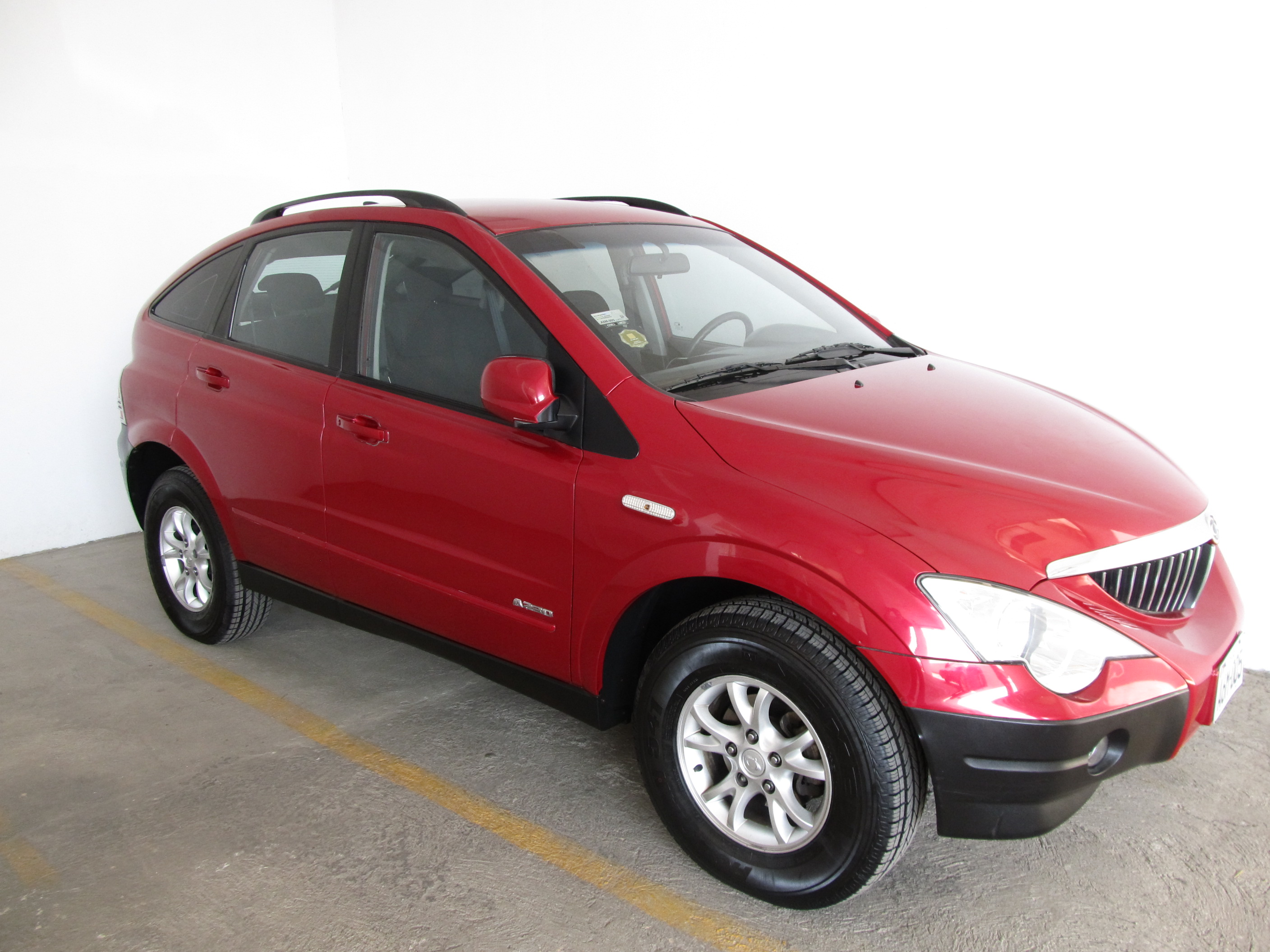 2008 Ssangyong Actyon #10