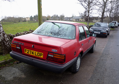 1988 Ford Orion #6