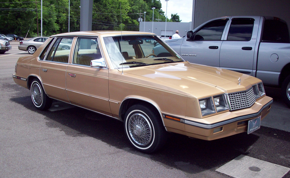 1986 Plymouth Caravelle #3