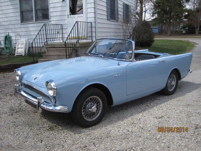 1962 Sunbeam Alpine #15