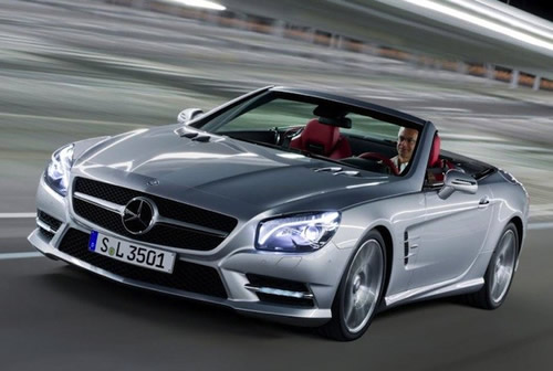 2012 Mercedes-Benz SL #8