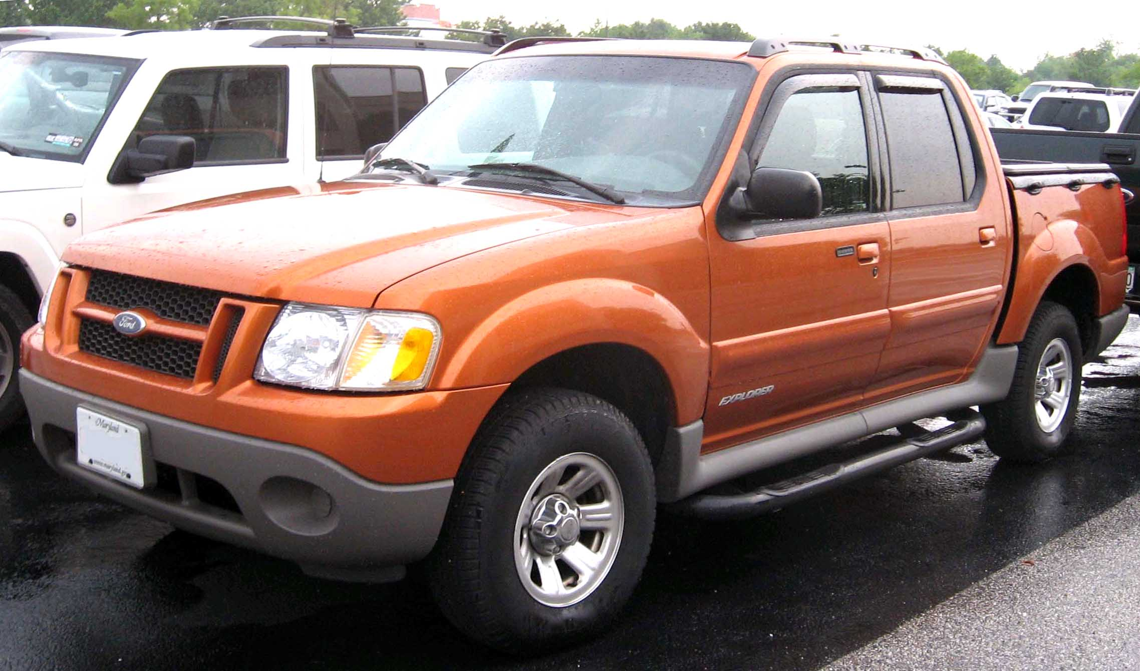 2001 Ford Explorer Sport Trac #6