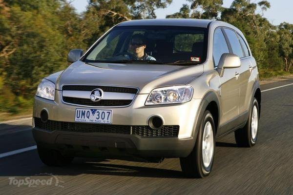 2007 Holden Captiva #4