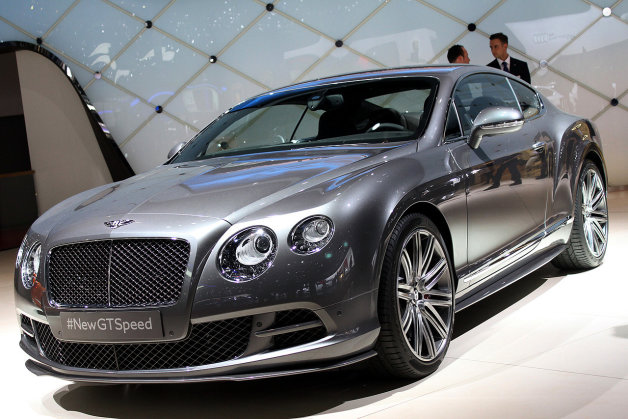 2014 Bentley Continental Gt #14