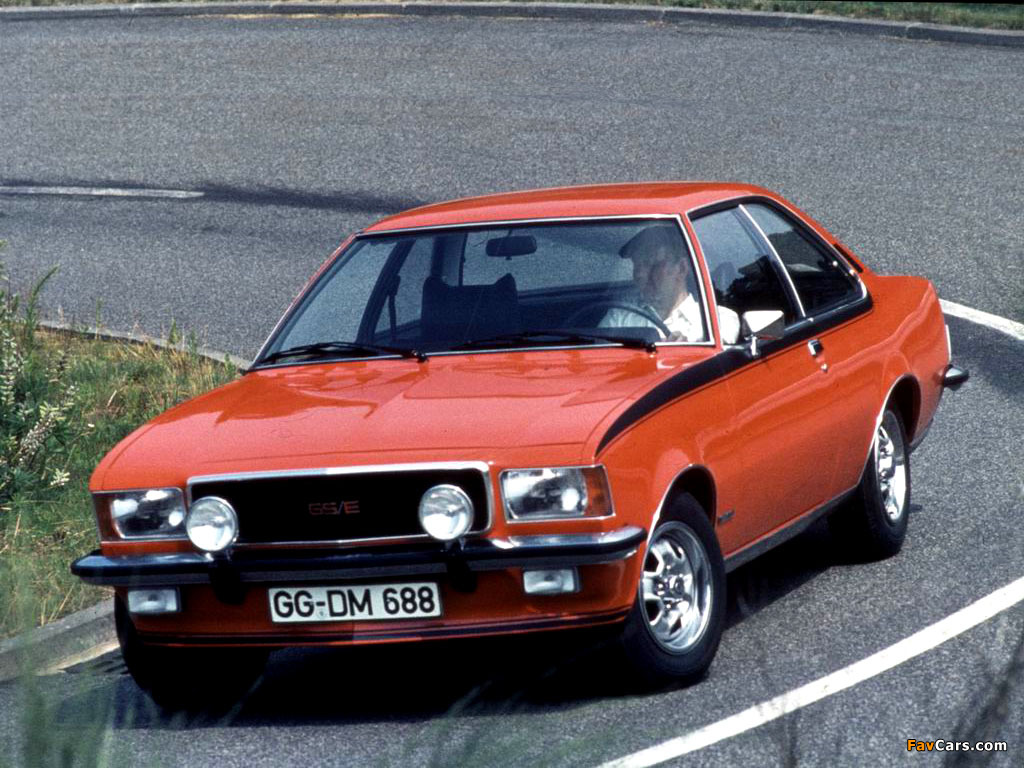 1972 Opel Commodore #5