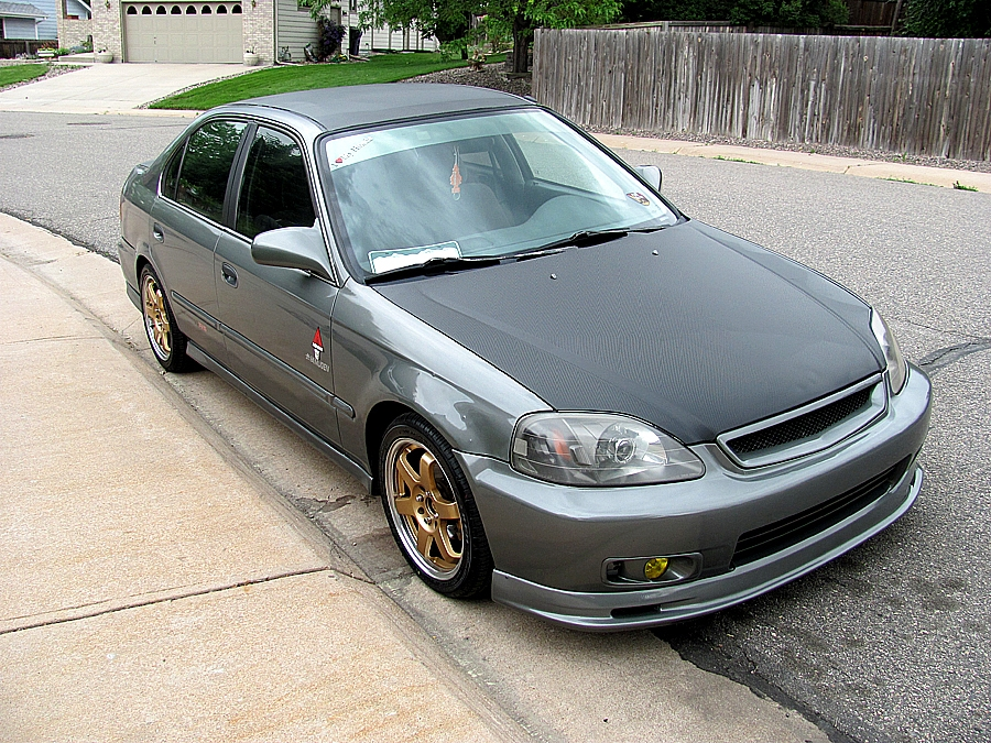 1997 Honda Civic #9