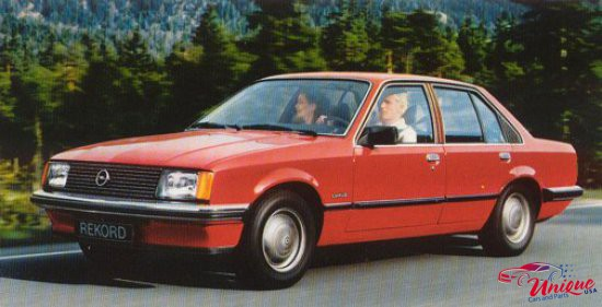 1982 Opel Rekord Photos Informations Articles