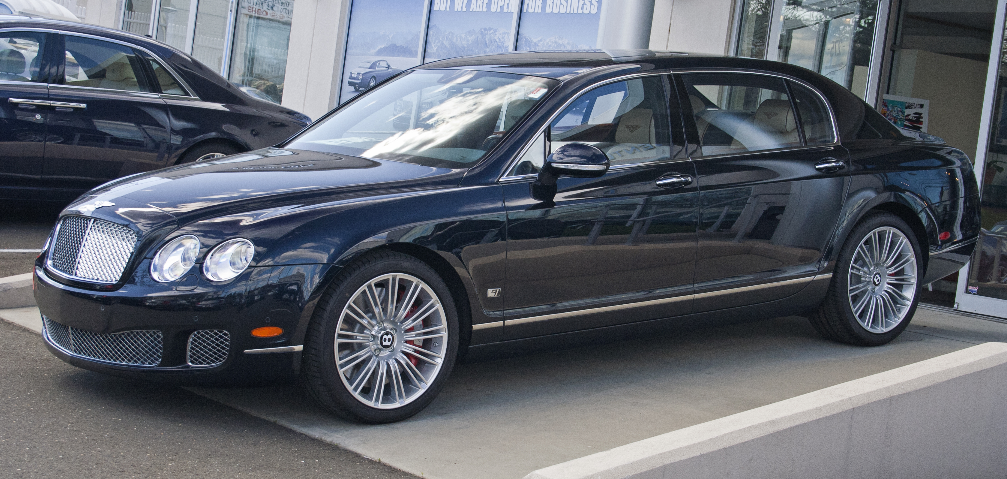 2012 Bentley Continental Flying Spur Speed #8