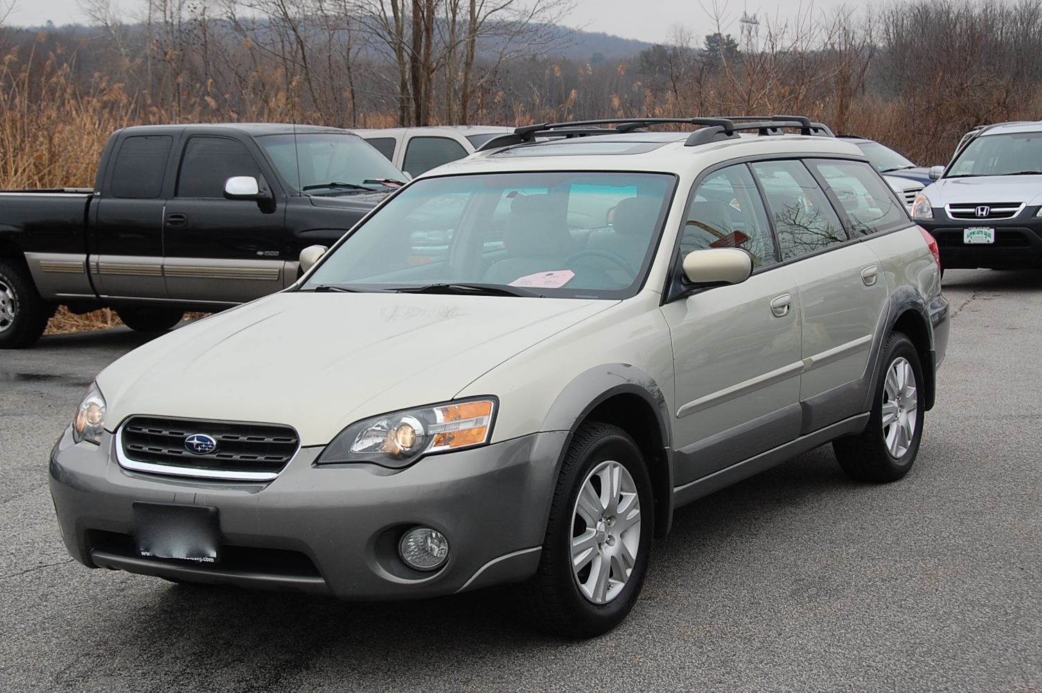 2005 Subaru Outback Photos Informations Articles