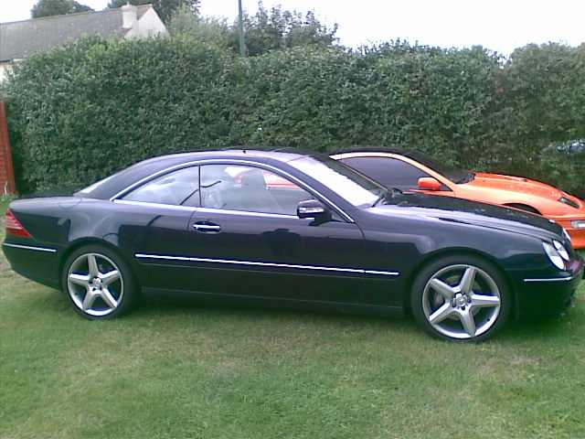 2003 Mercedes-Benz CL #13