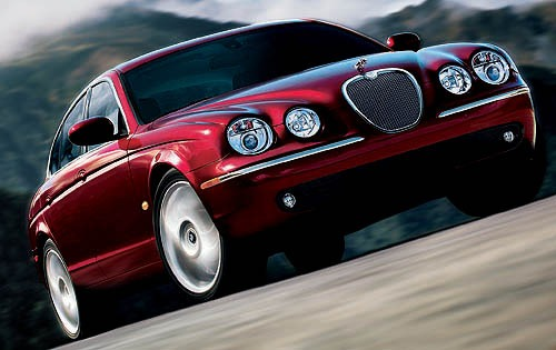 2008 Jaguar S-type #9