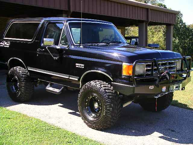 1991 Ford Bronco #8