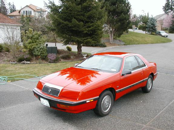 1990 Chrysler Le Baron #10
