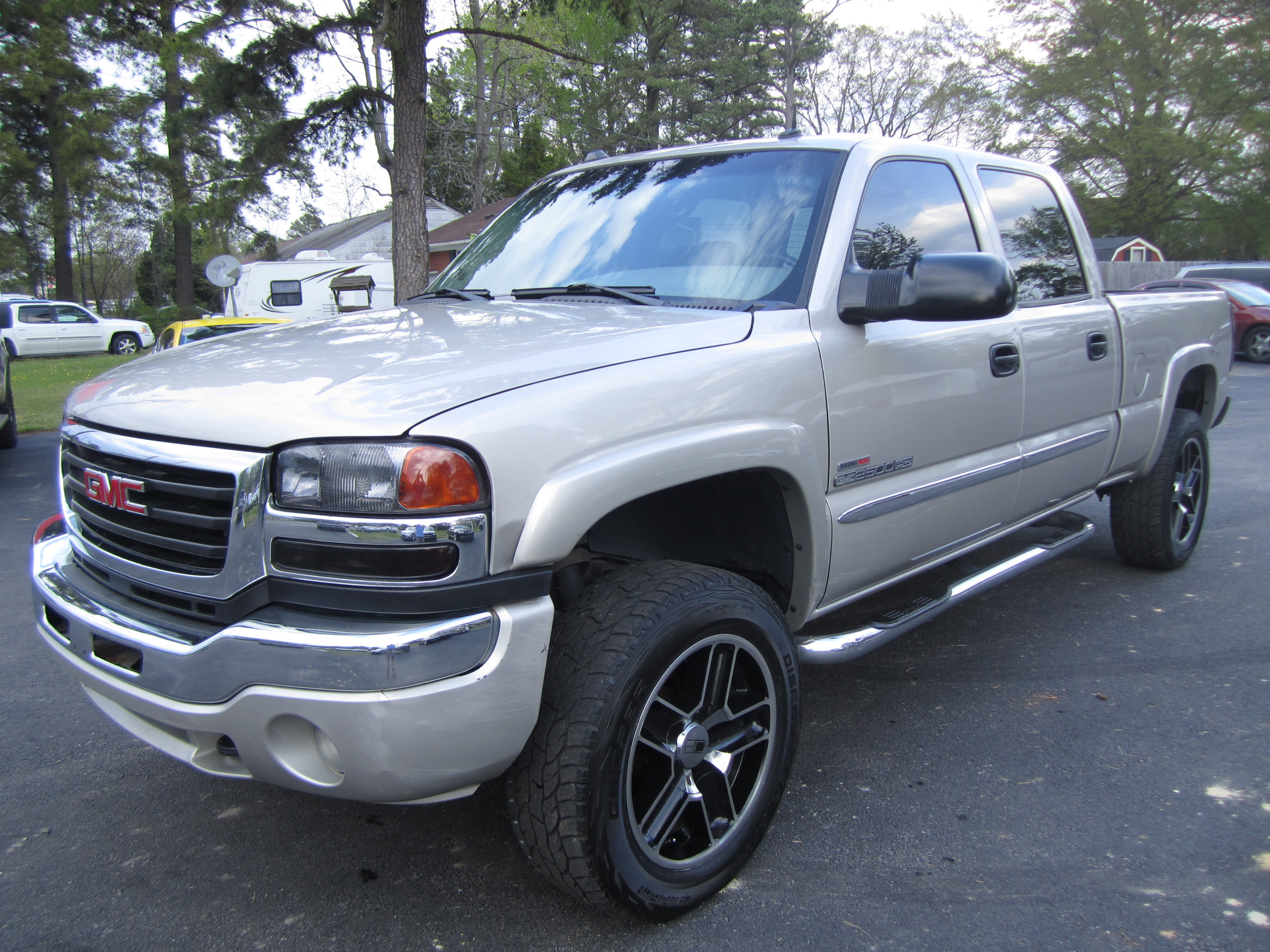 2004 GMC Sierra 2500hd #5