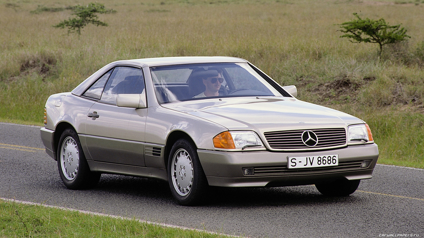 1989 Mercedes-Benz SL #2