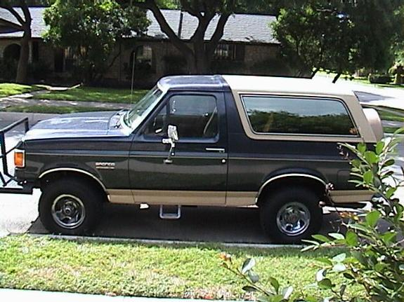1991 Ford Bronco #17