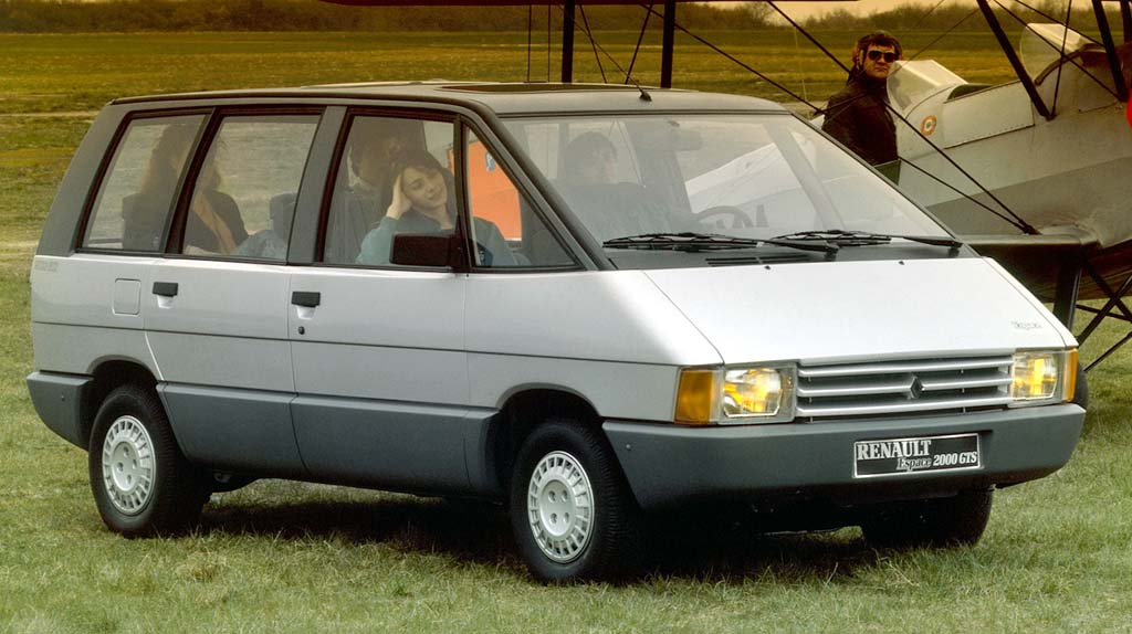 1990 renault espace photos informations articles. Black Bedroom Furniture Sets. Home Design Ideas
