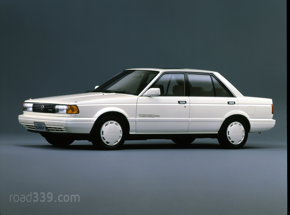 1985 Nissan Sunny Photos Informations Articles